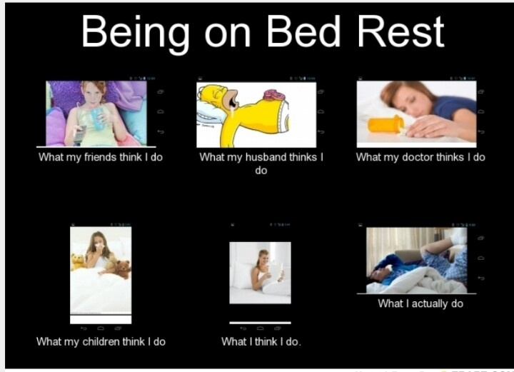 Being On Bed Rest Sucks Things That Make Me Laugh