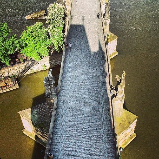 PRAHA, Karlův most, Charles Bridge, iPhone 5 — Jan Sibik