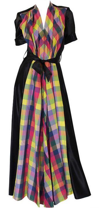 Dress 1940s 1stdibs.com - OMG that dress!