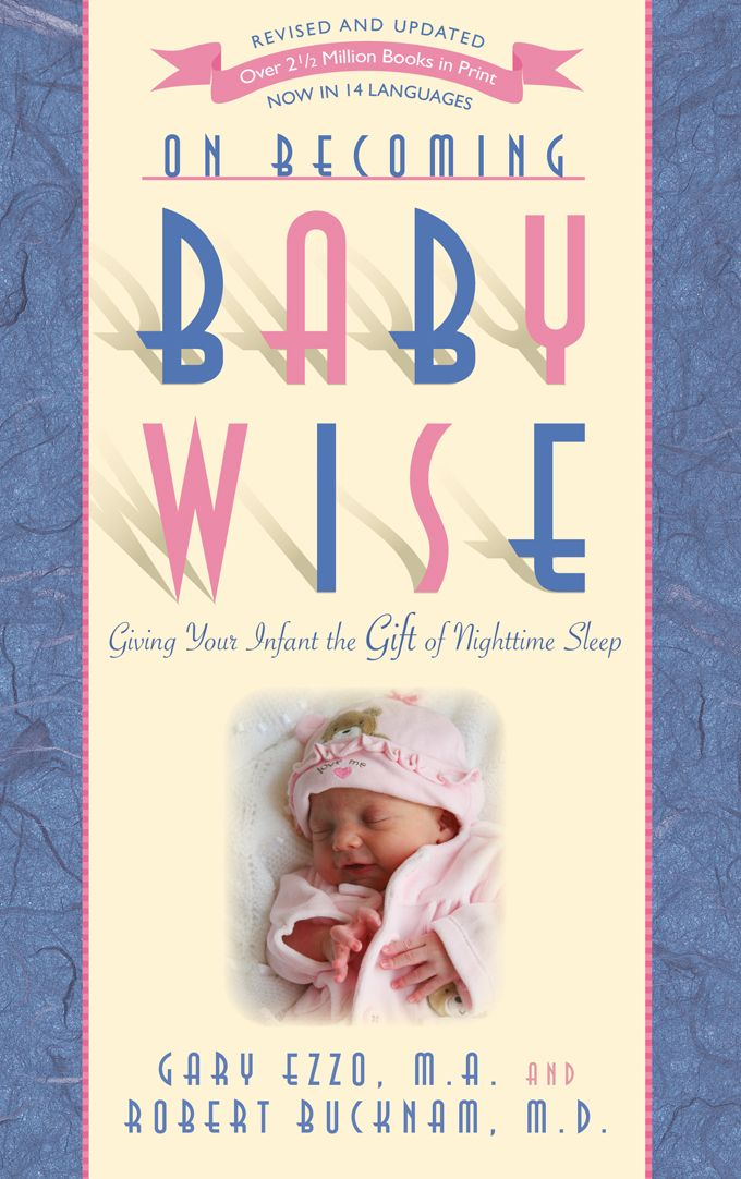 Babywise Book: I started training at 2-3 weeks.  It brings sanity to both mom and baby