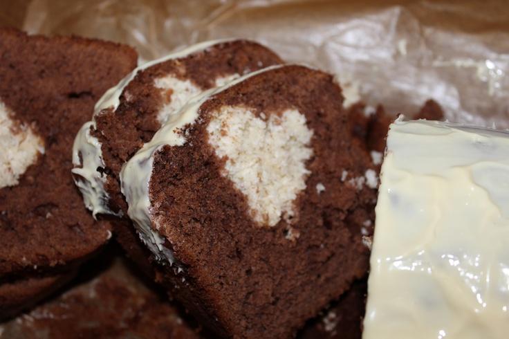chocolate & cocos cake