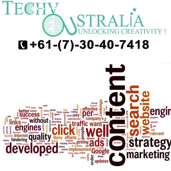 +61-(7)-30-40-7418 Techy Australia Skills of websites development company