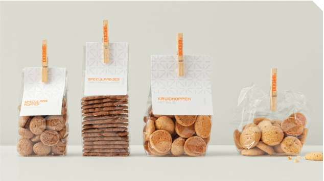 Seed-Speckled Packaging - Lupains Bread Branding Lightheartedly Celebrates the Cereal Ingredients (GALLERY)