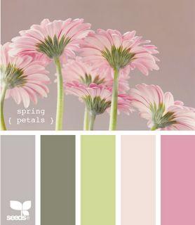 nice floral spring colour palette                                                                                                                                                      More