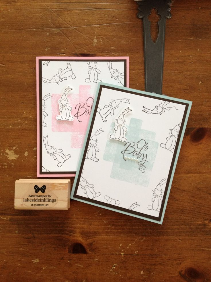 Stampin' Up! Baby, we've grown, from the Occasions catalogue 2014