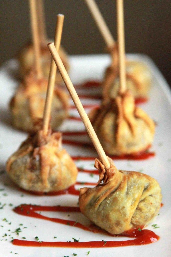 Cheesesteak Dumplings - Del Frisco's great appetizer