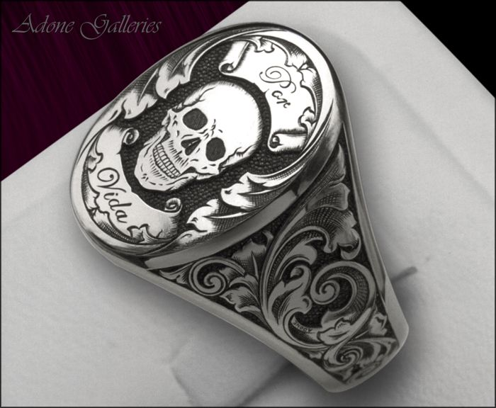 til death do us part mens ring!
