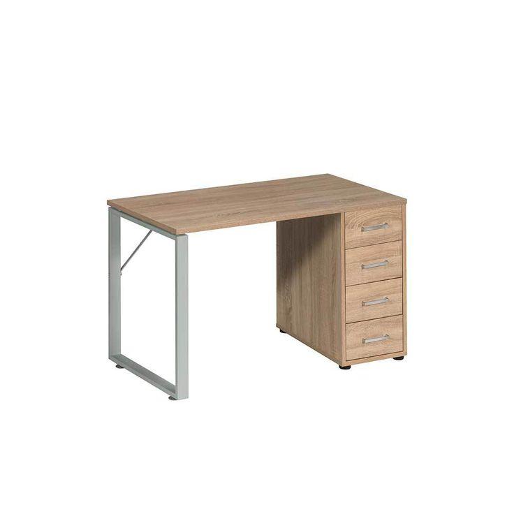 Schreibtisch in Sonoma Eiche für Büro Jetzt bestellen unter: https://moebel.ladendirekt.de/buero/tische/schreibtische/?uid=f7c2dd38-63d3-5f97-bb2f-4f51d0eaab28&utm_source=pinterest&utm_medium=pin&utm_campaign=boards #tischgestell #buero #jugendschreibtisch #edv #tisch #tische #schülerschreibtisch #schreibtisch #büroschreibtisch #schreibtische