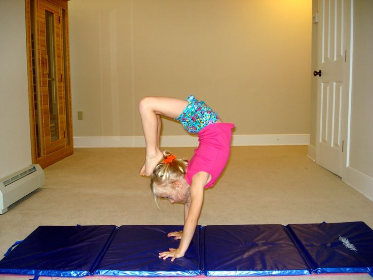 My daughter, Olivia workouts everyday doing gymnastics at ...