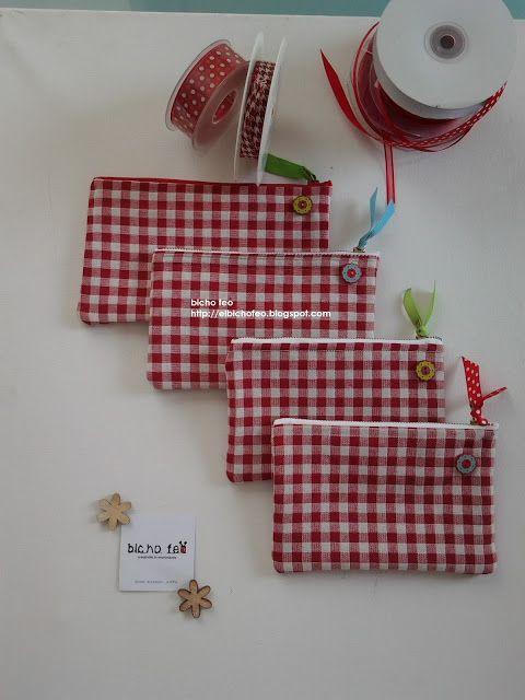 bicho feo - Astucci da borsa o per le matite http://elbichofeo.blogspot.com