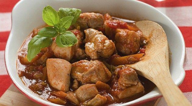 Receita de frango caipira