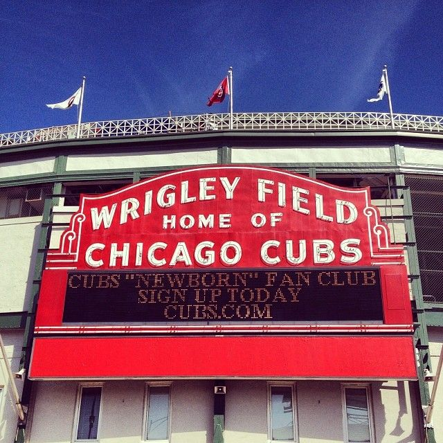 Wrigley Field is one of the most historical sites in baseball history. To this very day.