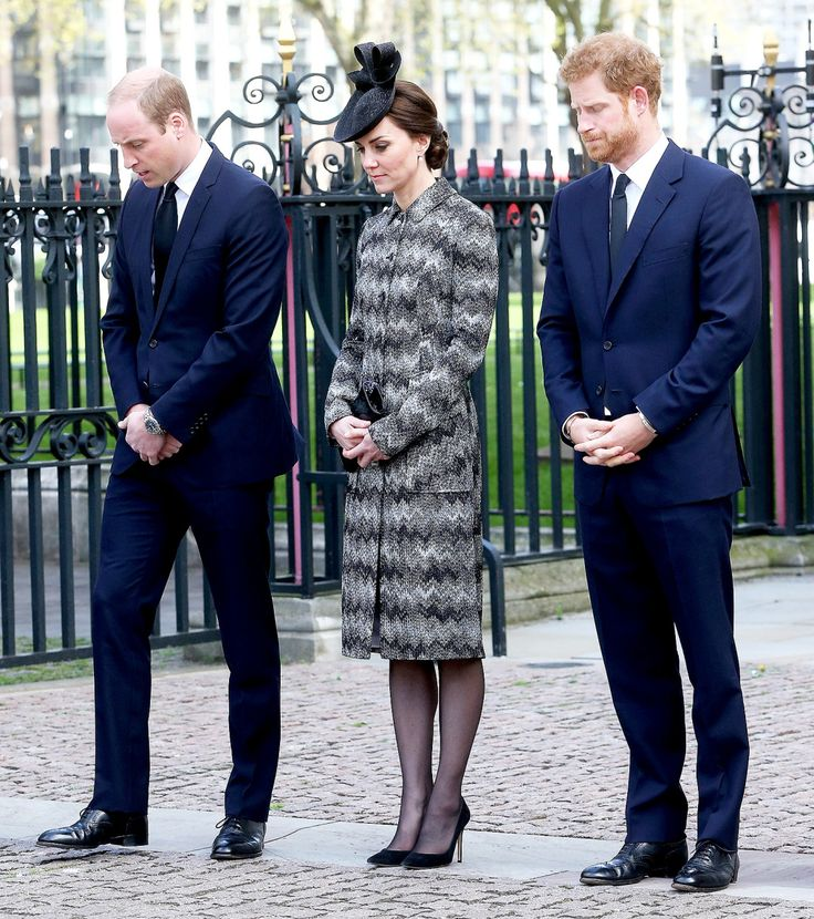 William, Kate and Harry Lead Tribute at 'Service of Hope' for London Attack Victims