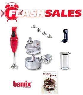 """Approfitta del """"Flash Sales"""" per acquistare ad un prezzo vantaggioso il fantastico Mixer Bamix Mono. Promozione valida fino al 31 Luglio."""