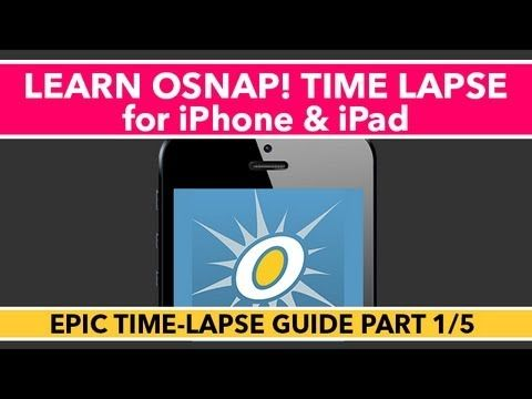 iphone time lapse tutorial