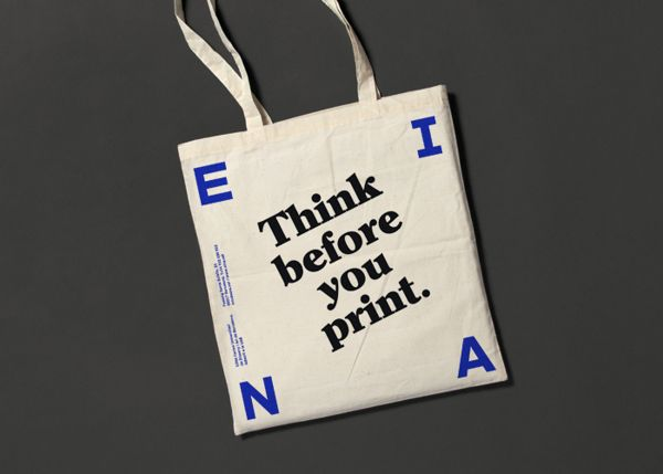 EINA identity by clase bcn , via Behance