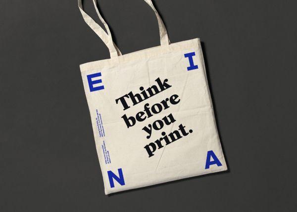 EINA identity by clase bcn , via Behance