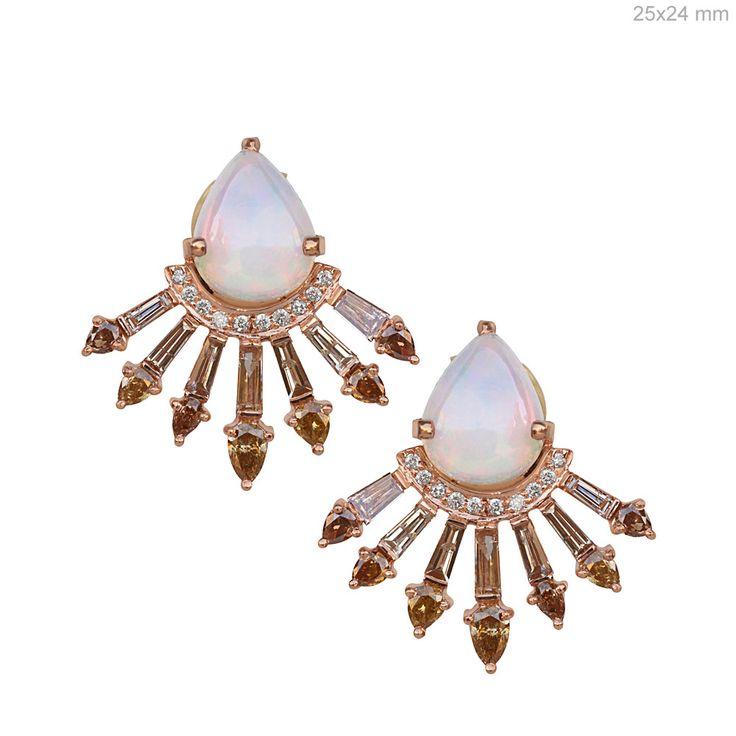 Diamond Baguettes fancy color opal Studs Earrings #designerjewelry #jewelleryaddict #jaxemrata #jewelryaddict #jewelrymaking #jewelry #italianjewellery #ijl #londonjewellery #dubaijewellery #jckshow #bestselling #hotselling #hot #coolstuff #diamondstuds #solitaire #taylorswift #danbilzerian #selenagomez #kimkardashian #beyonce #beach #bikini #couturecollection #coutureshow #jcklasvegas #miamibeach @instagram #interior #interiordesign