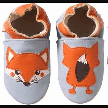 Chaussons petits renards