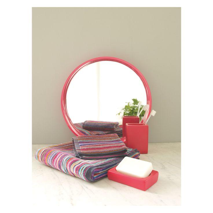SHADI Bright stripe hand towel