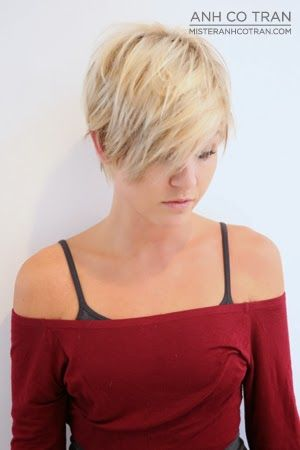 Short sexy pixie hair styles