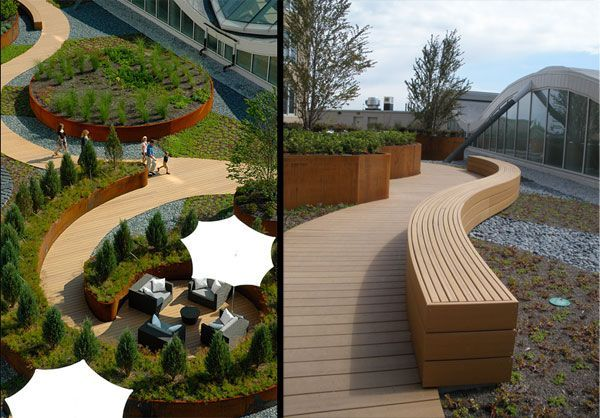 Nouvelle at Natick, by  Martha Schwartz Partners, Natick (MA), USA. #landarch #landscape #architecture