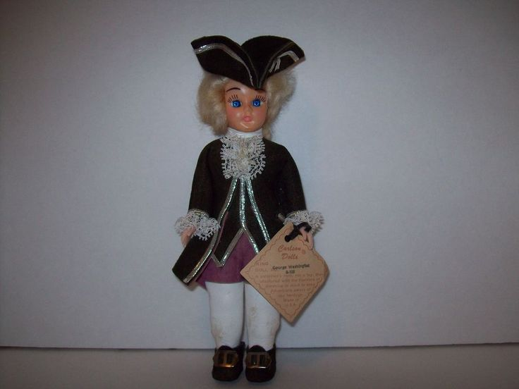 Carlson Dolls George Washington Collector's Doll #Dolls