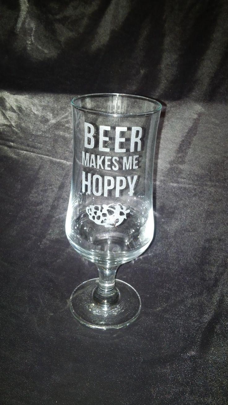 beer makes me hoppy