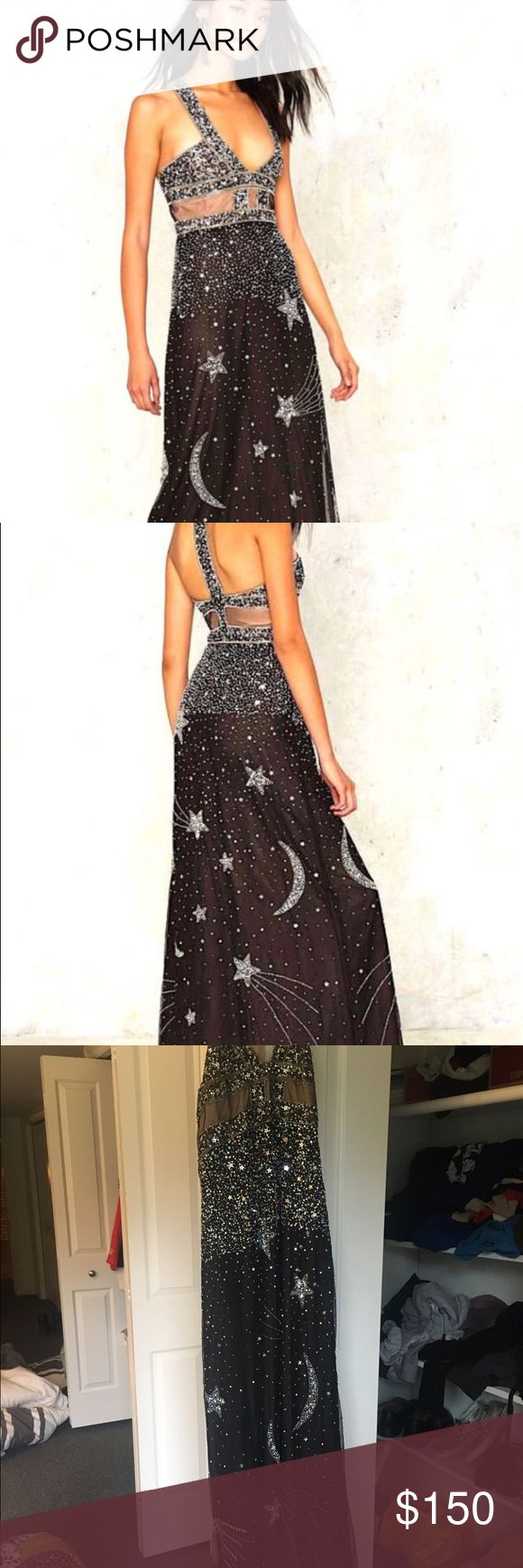 Nast Gal Moon and Stars Formal Dress Beautiful and new formal/prom dress!! Never worn - bought online and it did not fit. Price is negotiable! Nasty Gal Dresses Prom