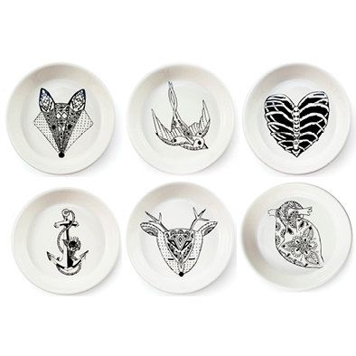 Tapas Bowls Set - Monochrome Mix by SugarandViceSA on Etsy