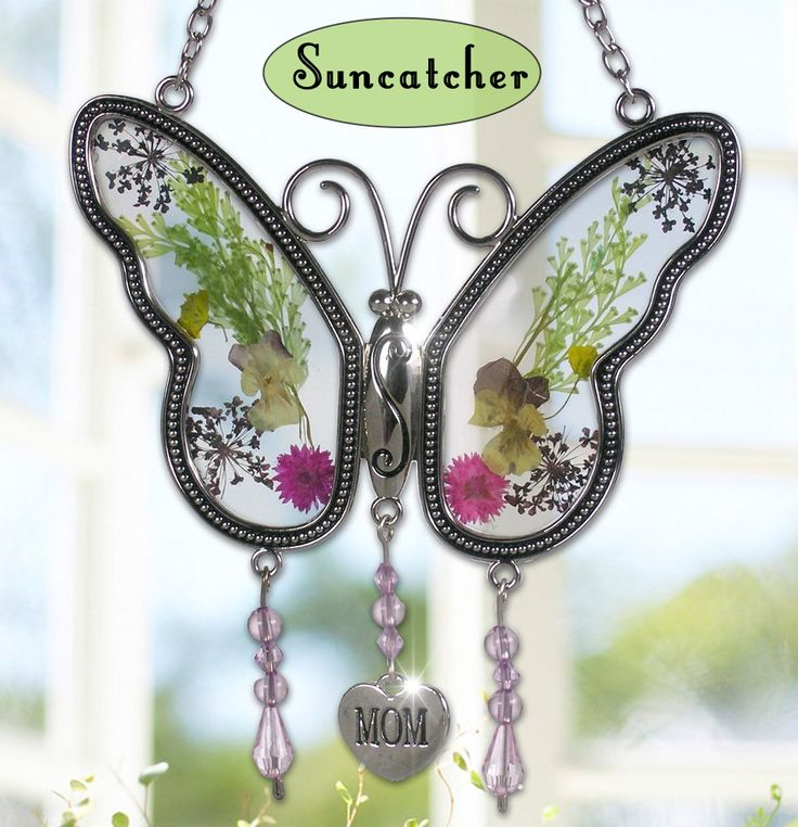 Engraved Butterfly Suncatcher + 11 more unique butterfly gifts for a nature lover in your life, or send these butterfly gift ideas to someone trying to make you happy this holiday season.