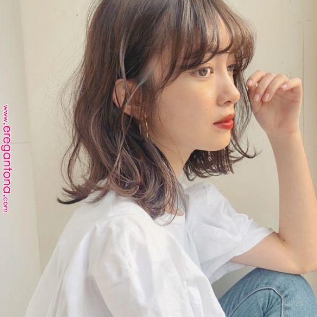 026style 高羽 友人 La風 ミディアムウェーブ ミディアムボブ