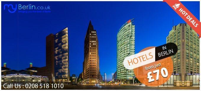Hotel deals in Berlin - MyBerlin: Choose from a selected range of hotel deals, city break deals and weekend breaks deals at very affordable prices with http://www.myberlin.co.uk/berlin-hotels.aspx. Schedule your trip and get to roam around the city having modern architecture & landmarks.