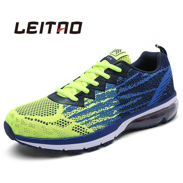 LEITAO Liefhebbers Sport Loopschoenen Outdoor Ademend Comfortabele Paar Schoenen Lichtgewicht Atletische Sneaker Mannen en Vrouwen