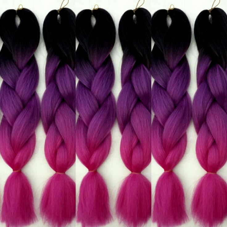 New! Ombré 100% Kanekalon Jumbo Braiding Hair. Kanekalon is the most popular fiber used in braids, twists, and synthetic dreads. You will always...