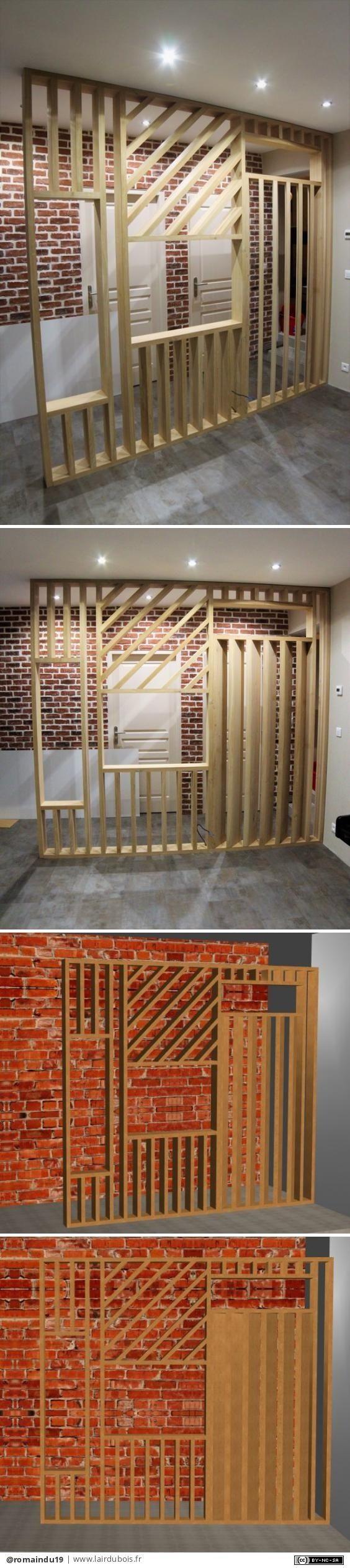 cloison ajour e par romaindu19 les cr ations cloison. Black Bedroom Furniture Sets. Home Design Ideas