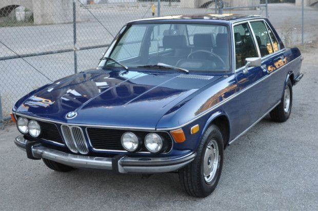 had a 1971 BMW 2500 in Germany, brown...  Original Except Paint: 1972 BMW Bavaria | Bring a Trailer