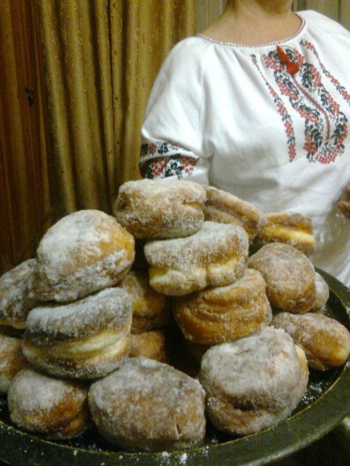 Ukrainian Pampushky Christmas Doughnuts I Light and tender with variations of fillings, poppy seed, or prune jam, cherry preserves, or apricot jam | food.com