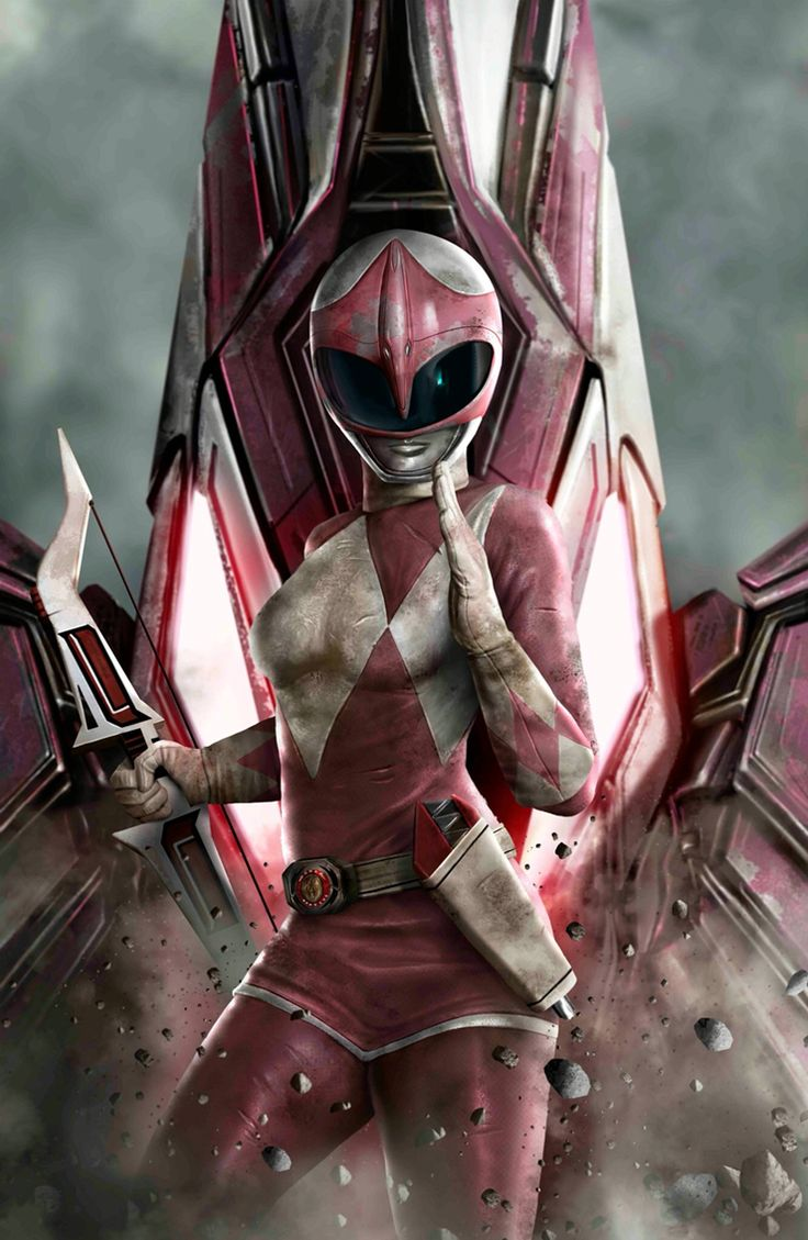 Mighty Morphin' Pink Ranger                                                                                                                                                                                 Mais