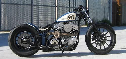 Bobber Inspiration | Sportster bobber | Bobbers and Custom Motorcycles