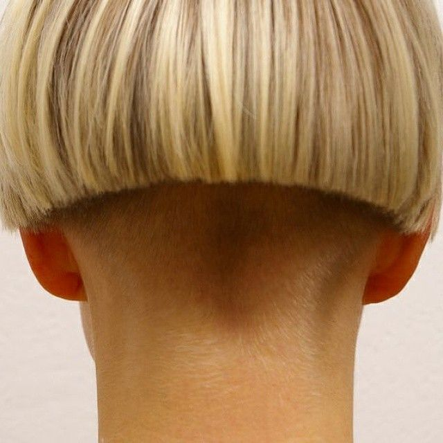 images  buzzed nape  pinterest blog page soldiers  inverted bob