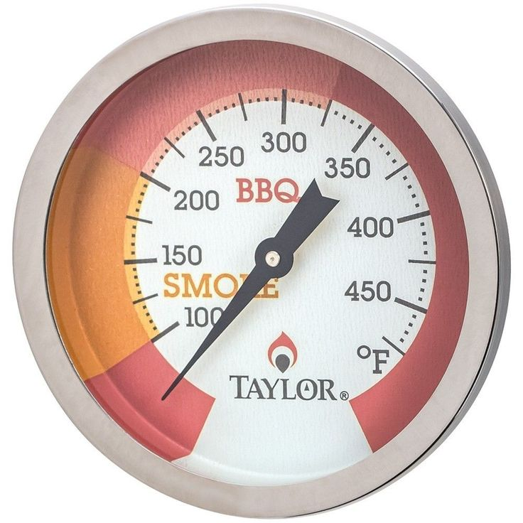 Taylor Grill Smoker BBQ Thermometer Threaded Mount Glow in the Dark US Seller #Taylor