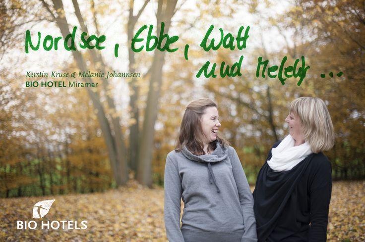 Kerstin Kruse und Melanie Johannsen von Bio-Hotel Miramar in Tönning an der Nordsee