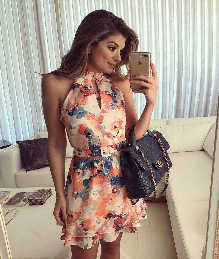 {Do dia} De vestido @evabellaoficial  • #ootd #selfie #lookdodia #blogtrendalert