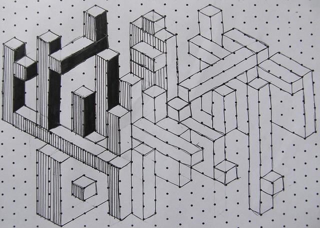 isometric paper - cool