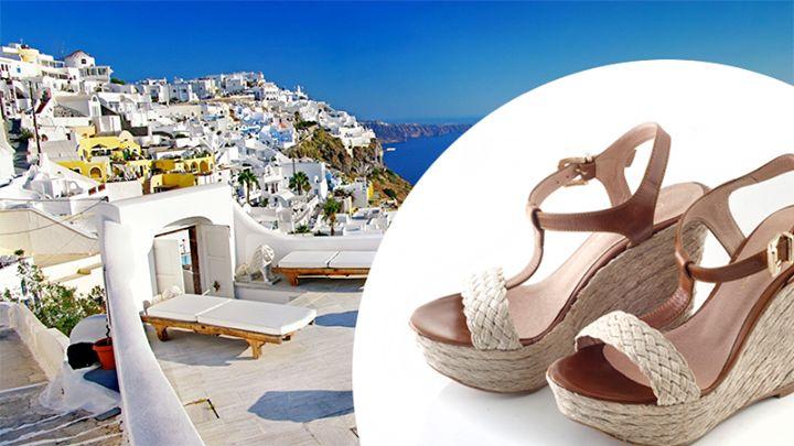 Καλοκαίρι, θάλασσα, ήλιος, διακοπές... Summer, sea, sun, vacation...  #chaniotakis #summer #shoes #SS15 #Greece #wedges