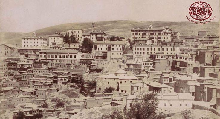 Harput, Turkey, where my great grandfather owned a silk brocade weaving mill