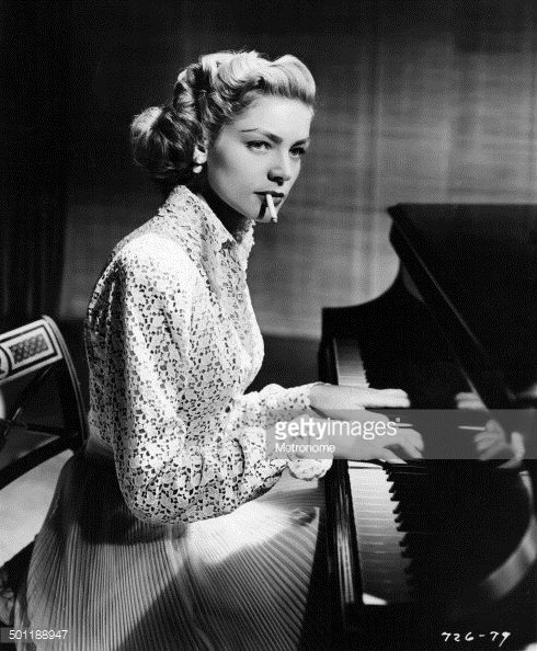 ... White,California,Cigarette,Film Industry,Human Interest,Lauren Bacall,Movie,Musical Instrument,North America,One Person,People,Photograph,Piano,Smoke ...