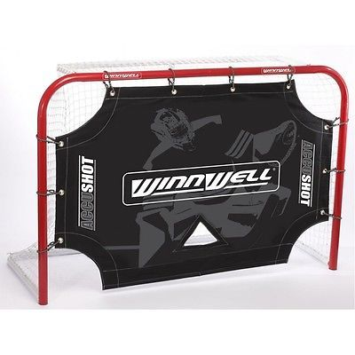 #Winnwell ice/roller/street #hockey accushot goal mouth shooting #target, View more on the LINK: http://www.zeppy.io/product/gb/2/181949250300/