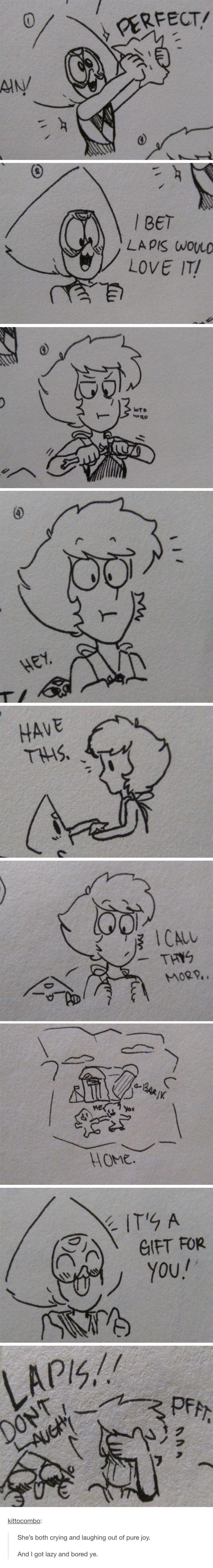El dibujo de Peridot :3